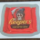 REEPERS 2013 Topps Wacky Packages SILVER Parallel INSERT Sticker Card #9 Series 10 FREE SHIPPING 9