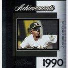 RICKEY HENDERSON 2004 Playoff Prestige Achievements INSERT Card #A-12 OAKLAND A's Baseball FREE SHIP