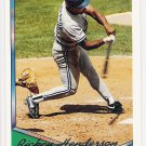 RICKEY HENDERSON 1994 Topps GOLD Parallel INSERT Card # 248 TORONTO BLUE JAYS Baseball FREE SHIPPING