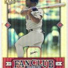 RICKEY HENDERSON 2002 Donruss Best of Fan Club Favorites Card #274 SAN DIEGO PADRES #'d 93/2025 SP