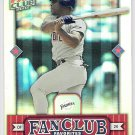 RICKEY HENDERSON 2002 Donruss Best of Fan Club Favorites Card #274 SAN DIEGO PADRES #'d 1680/2025