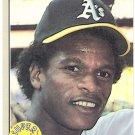RICKEY HENDERSON 1983 Fleer Superstar Special Speed Card #646 OAKLAND A'S Baseball FREE SHIPPING 646