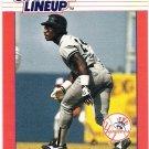 RICKEY HENDERSON 1988 Kenner Starting Lineup Card #48 NNO NEW YORK YANKEES Baseball FREE SHIPPING