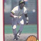 RICKEY HENDERSON 1983 Donruss Card #35 OAKLAND A'S Baseball FREE SHIPPING HOF 35