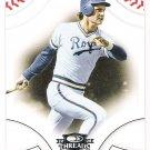 GEORGE BRETT 2008 Donruss Threads Card #27 KANSAS CITY ROYALS Baseball FREE SHIPPING 27 HOF