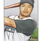AKINORI IWAMURA 2007 Bowman Heritage SHORT PRINT Variation ROOKIE Card #233 TAMPA BAY RAYS 233B