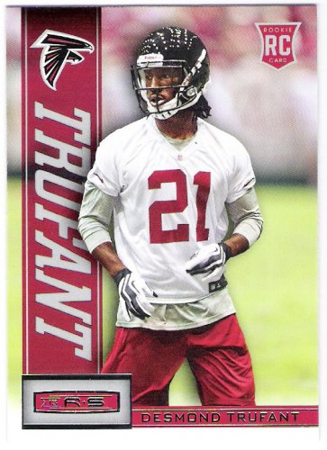 DESMOND TRUFANT 2013 Panini Rookies & Stars ROOKIE Card #126 ATLANTA FALCONS Football FREE SHIPPING