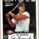 TED KLUSZEWSKI 2001 Topps Archives Baseball Card #314 CINCINNATI REDS Free Shipping 314 29