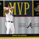 TOM GLAVINE 2004 Donruss World Series MVP INSERT Baseball Card #MVP-15 ATLANTA BRAVES #d 469/1000