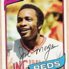 JOE MORGAN 1980 Topps Baseball Card #650 CINCINNATI REDS Free Shipping HOF 650