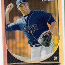 PATRICK LEONARD 2013 Bowman CHROME Prospects REFRACTOR Baseball ROOKIE Card #BCP202 TAMPA BAY RAYS