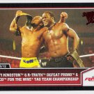 KOFI KINGSTON R-Truth PRIMO Epico 2013 Topps Best Of WWE Wrestling Card #11 FREE SHIPPING WWF 11 Pro