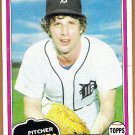 MARK FIDRYCH 1981 Topps Baseball Card #150 DETROIT TIGERS Free Shipping The Bird 150