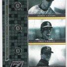 ERIC CHAVEZ & BARRY ZITO 2005 Donruss Zenith Mozaics INSERT Card #M-2 OAKLAND A'S Baseball FREE SHIP