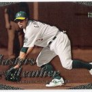 ERIC CHAVEZ 2003 Upper Deck Masters With The Leather INSERT Card #L8 OAKLAND A'S Baseball L8 UD