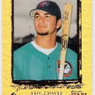 ERIC CHAVEZ 1999 UD SP Top Prospects ROOKIE Card #26 OAKLAND A'S Baseball FREE SHIPPING RC 26