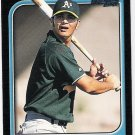 ERIC CHAVEZ 1997 Bowman 1st ROOKIE Card #210 OAKLAND A'S Baseball FREE SHIPPING RC 210