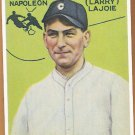 NAP LAJOIE 1933 Goudy Card 1980s REPRINT CLEVELAND INDIANS Oddball FREE SHIPPING Hall of Fame