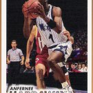 ANFERNEE HARDAWAY 1993-94 Fleer Card #343 ORLANDO MAGIC Basketball FREE SHIPPING 343