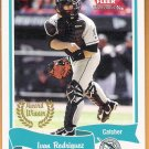 IVAN RODRIGUEZ 2004 Fleer Tradition Award Winner SHORT PRINT Card #464 FLORIDA MARLINS FREE SHIPPING