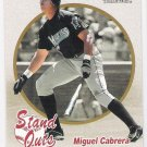 MIGUEL CABRERA 2004 Fleer Tradition Stand Outs SHORT PRINT Card #461 FLORIDA MARLINS FREE SHIPPING