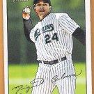 MIGUEL CABRERA 2007 Bowman Heritage Card #185 FLORIDA MARLINS Baseball FREE SHIPPING Miami 185