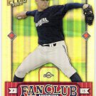 BEN SHEETS 2002 Donruss Best Of Fan Club Card #292 MILWAUKEE BREWERS Free Shipping #'d 642/2025