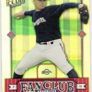 BEN SHEETS 2002 Donruss Best Of Fan Club Card #292 MILWAUKEE BREWERS Free Shipping #'d 440/2025