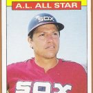CARLTON FISK 1986 Topps All Star Card #719 CHICAGO WHITE SOX Baseball FREE SHIPPING 719