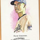 ZACK GREINKE 2008 Topps Allen & Ginter Card #237 KANSAS CITY ROYALS Baseball FREE SHIPPING 237