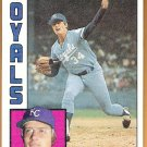 PAUL SPLITTORFF 1984 Topps Card #52 KANSAS CITY ROYALS Baseball FREE SHIPPING 52
