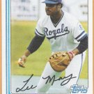 LEE MAY 1982 Topps Card #132 KANSAS CITY ROYALS Baseball FREE SHIPPING 132