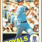 JOHN WATHAN 1985 Topps Card #308 KANSAS CITY ROYALS Baseball FREE SHIPPING 308