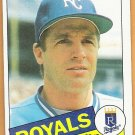DANE IORG 1985 Topps Card #671 KANSAS CITY ROYALS Baseball FREE SHIPPING 671