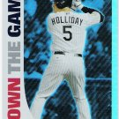 MATT HOLLIDAY 2008 Topps Own The Game INSERT Card #OTG6 COLORADO ROCKIES Baseball FREE SHIPPING 6