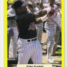 KIRBY PUCKETT 1987 Classic Update Yellow w/ GREEN Back SP Card #112 MINNESOTA TWINS Free Shipping