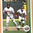 KIRBY PUCKETT 1989 Upper Deck Card #376 MINNESOTA TWINS Baseball FREE SHIPPING 376