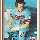 CHUCK BAKER 1982 Topps Card #253 MINNESOTA TWINS Baseball FREE SHIPPING 253