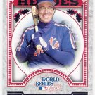 GARY CARTER 2014 Topps Update World Series Heroes INSERT Card #WSH-GC NEW YORK METS Free Shipping