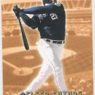 SEAN BURROUGHS 2002 Fleer Future GOLD Back ROOKIE Card #525 SAN DIEGO PADRES Baseball FREE SHIPPING