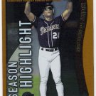 RICKEY HENDERSON 2002 Topps Season Highlights Card #335 SAN DIEGO PADRES Baseball FREE SHIPPING 335