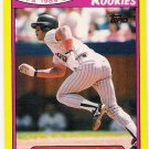 ROBERTO ALOMAR 1989 Toys R Us ROOKIES Card #1 SAN DIEGO PADRES Baseball FREE SHIPPING Rookie RC 1