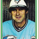 BOB DAVIS 1981 Topps Card #221 TORONTO BLUE JAYS Baseball FREE SHIPPING 221