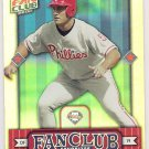 PAT BURRELL 2002 Donruss Best Of Fan Club Card #299 PHILADELPHIA PHILLIES Baseball FREE SHIPPING #'d