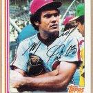 MANNY TRILLO 1982 Topps Card #220 PHILADELPHIA PHILLIES Baseball FREE SHIPPING 220