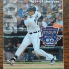 DETROIT TIGERS 2015 Spring Training Pocket Schedule FREE SHIPPING Baseball VICTOR MARTINEZ Lakeland