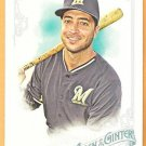 RYAN BRAUN 2015 Topps Allen & Ginter Card #113 MILWAUKEE BREWERS Baseball FREE SHIPPING 113