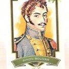 SIMON BOLIVAR 2012 Topps Allen & Ginter Worlds Greatest Military Leaders Mini INSERT Card #ML-2 And
