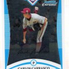 CARLOS CARRASCO 2008 Bowman CHROME Draft Picks & Prospects FG ROOKIE Card #BDPP66 FREE SHIPPING
