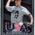 MATT HARVEY 2013 Panini Prizm Team U.S.A. Baseball INSERT Card #USA5 NEW YORK METS Free Shipping